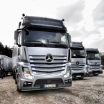 new actros - driving test