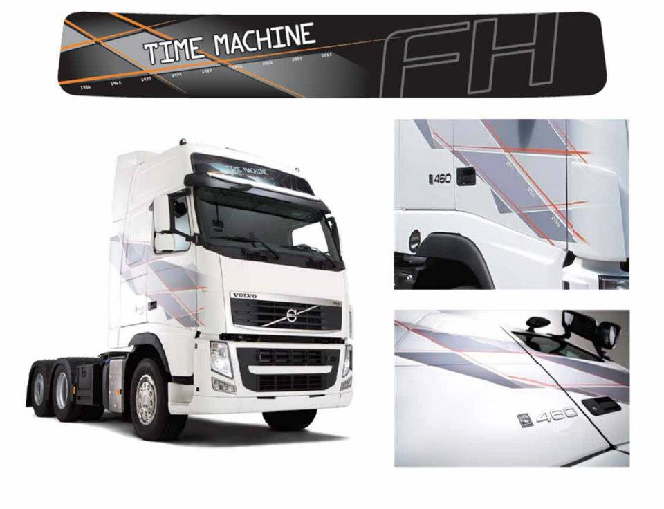 volvo fh time machine