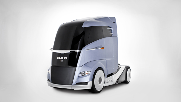 MAN apresenta caminhão ecológico