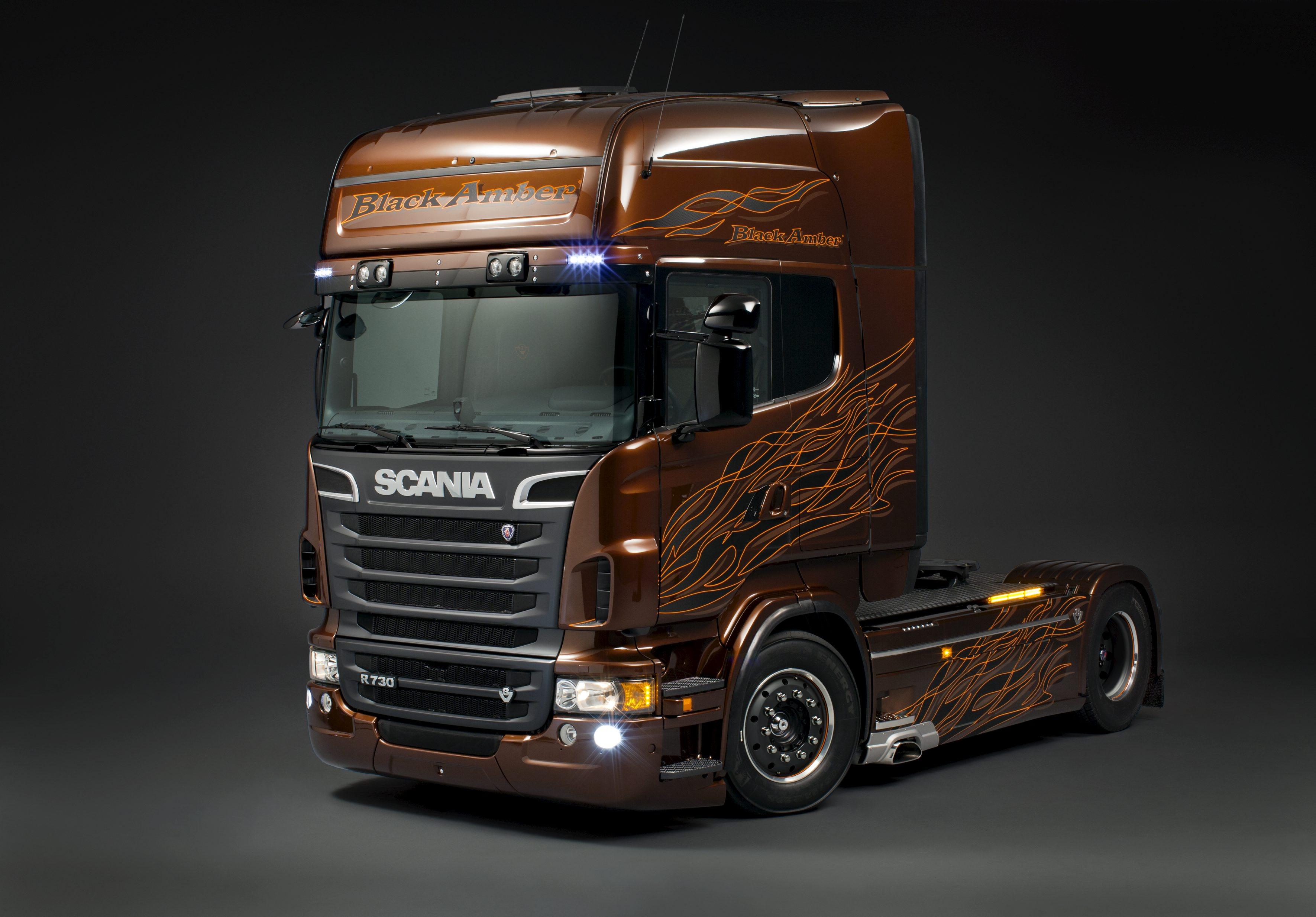 Scania R730    Blog Do Caminhoneiro
