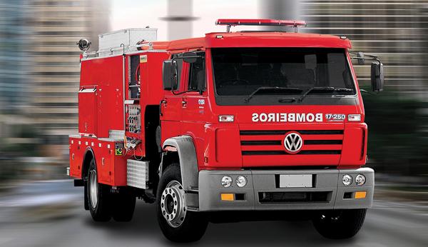vw 17.250 automatico - bombeiros