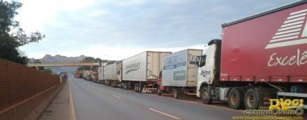 caminhoneiros br 381