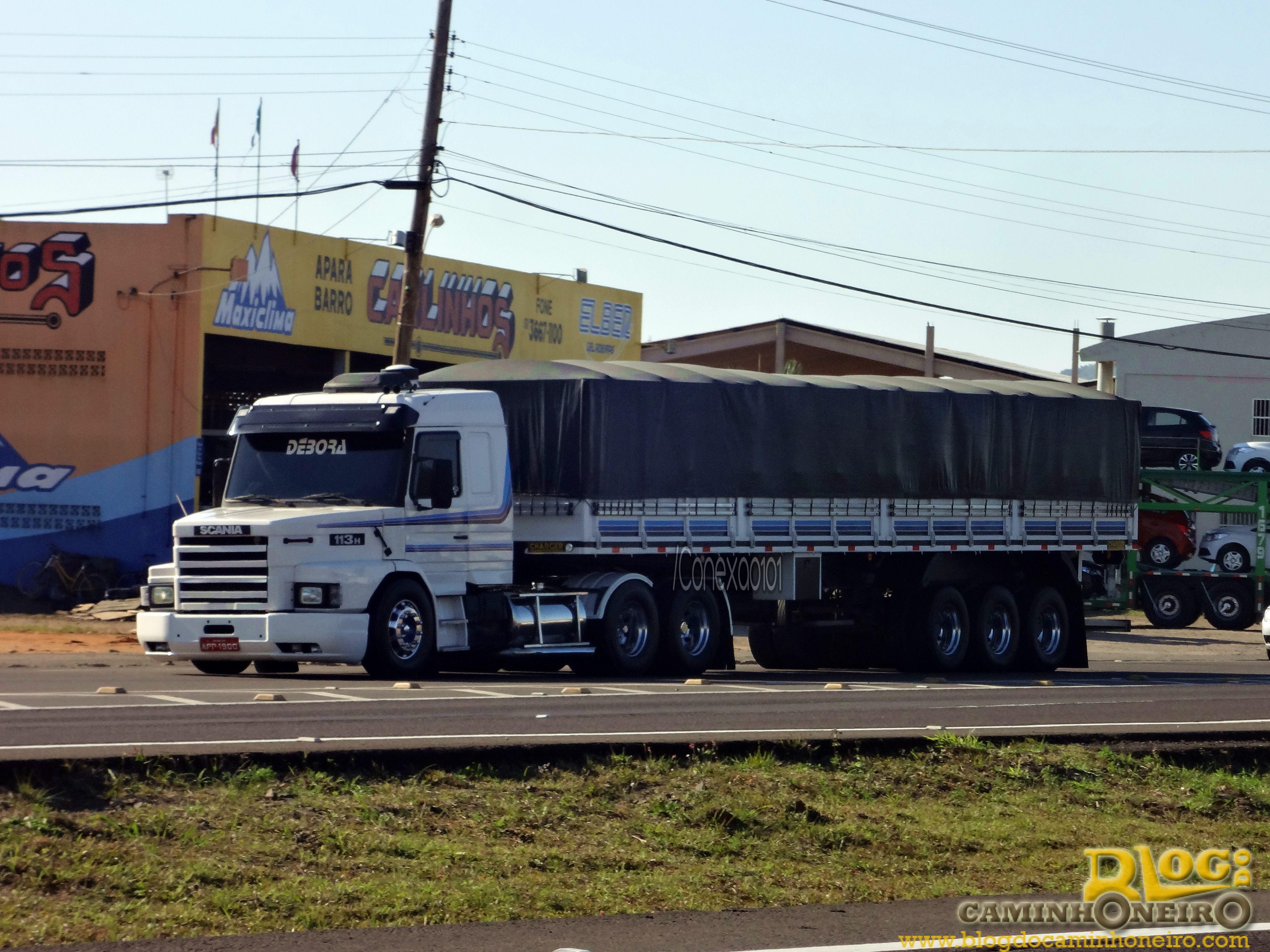 Wallpaper do dia [Scania 113H Os Débora] – Blog do ...